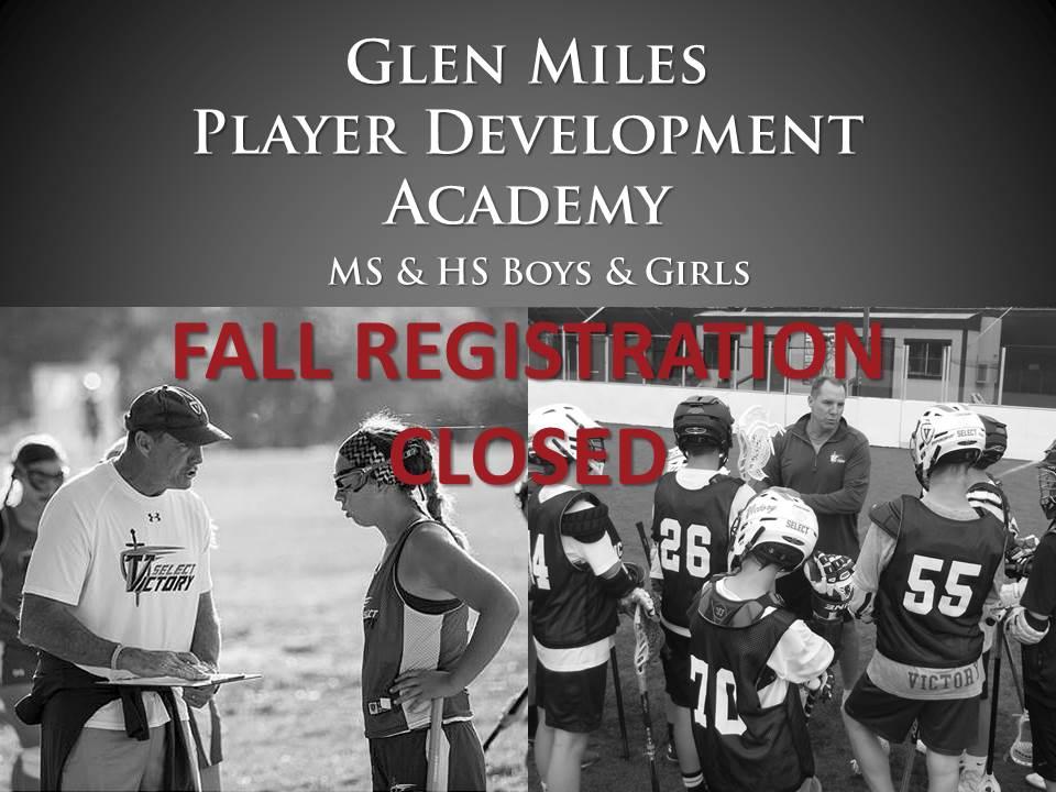 G Miles Academy reg closed