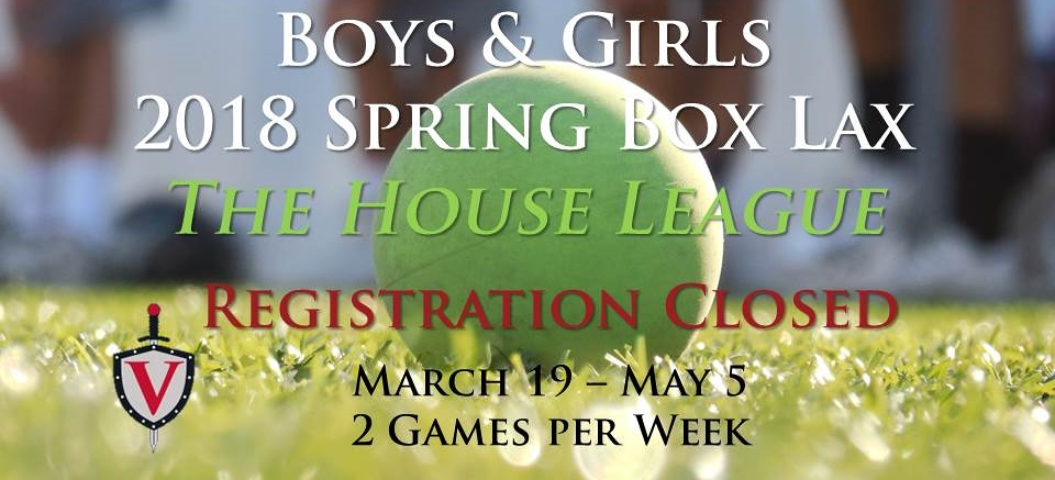 Spring House Box league registration closed