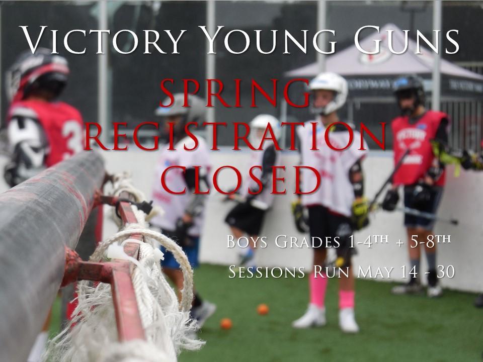 Young Guns 2019 Reg closed